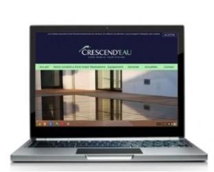Nouveau site web Crescend'Eau