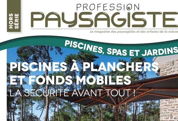 Fond mobile Crescendeau dans le magazine profession paysagiste