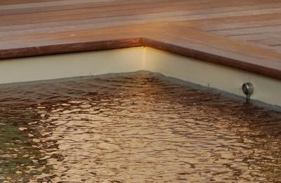 Une arase en béton dosée à 350 kg par m2