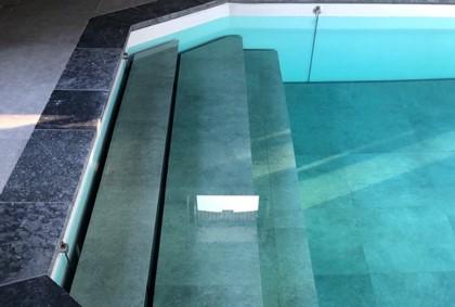 Fond mobile escalier marbre Normandie