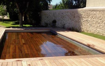 Installation de fonds mobiles piscine dans le monde entier